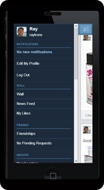phone menu