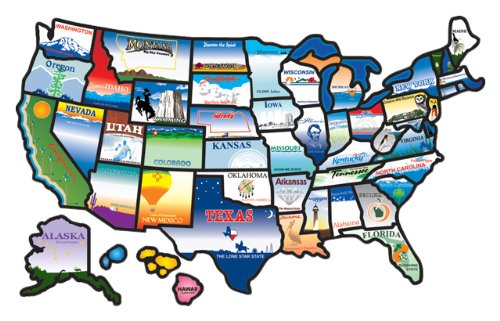 Map of States Visited – RV Happy Hour