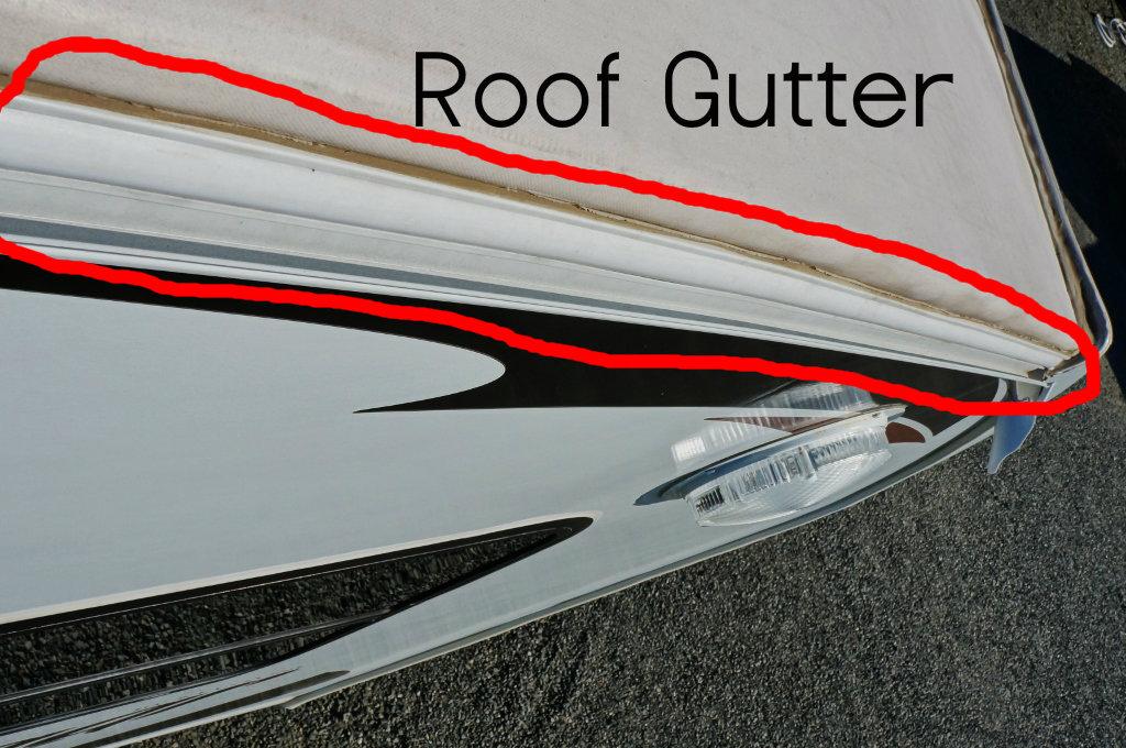Resealing roof gutters? – RV Happy Hour