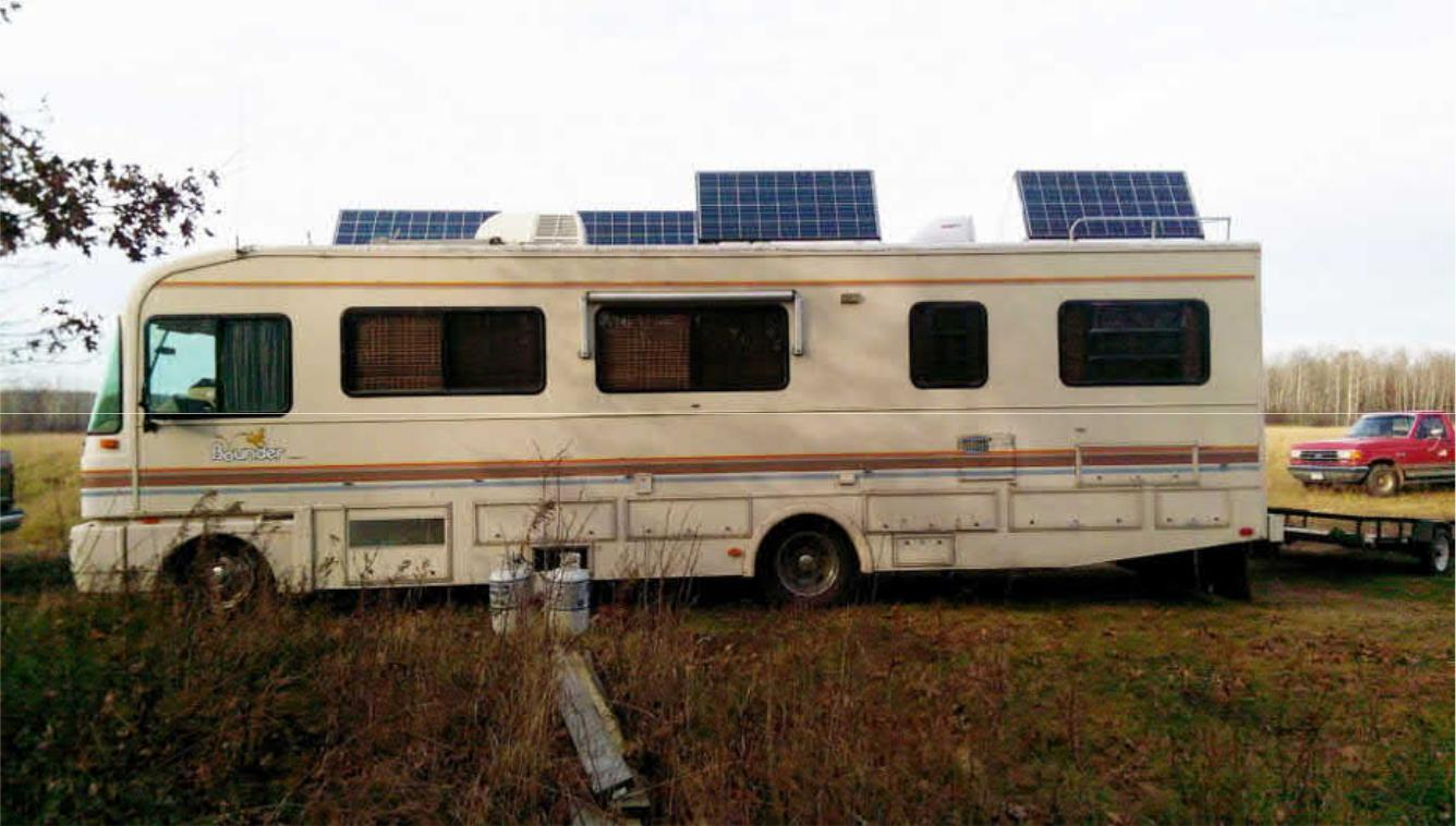 Project Solar And Battery Bank Addition For An Rv Happy Hour Wiring Diagram Also Panel As Well The Home In Event Of Power Outages Prepper Side Me Its A Bug Out Vehicle I Thought It Would Just Be Cool To Do