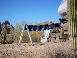 Boondocking Laundry