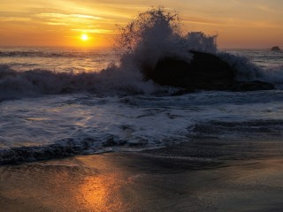 Harris Beach State Park Sunset