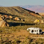 Whitney Pockets BLM Camping