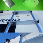 Atwood Ladder Repair Idea Aluminium Angel Brackets Pop Riveted
