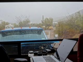 Rain in southern Arizona