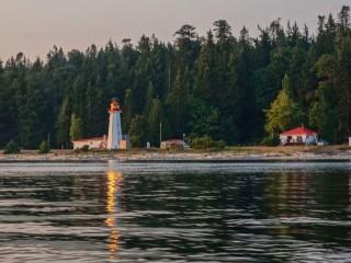 Cape Mudge Lighthouse Quadra Island BC