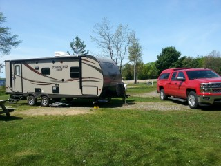 Campsite  at Michigamme Shores